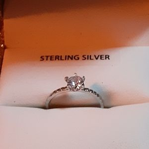 6 CZ Diamond Engagement Rings